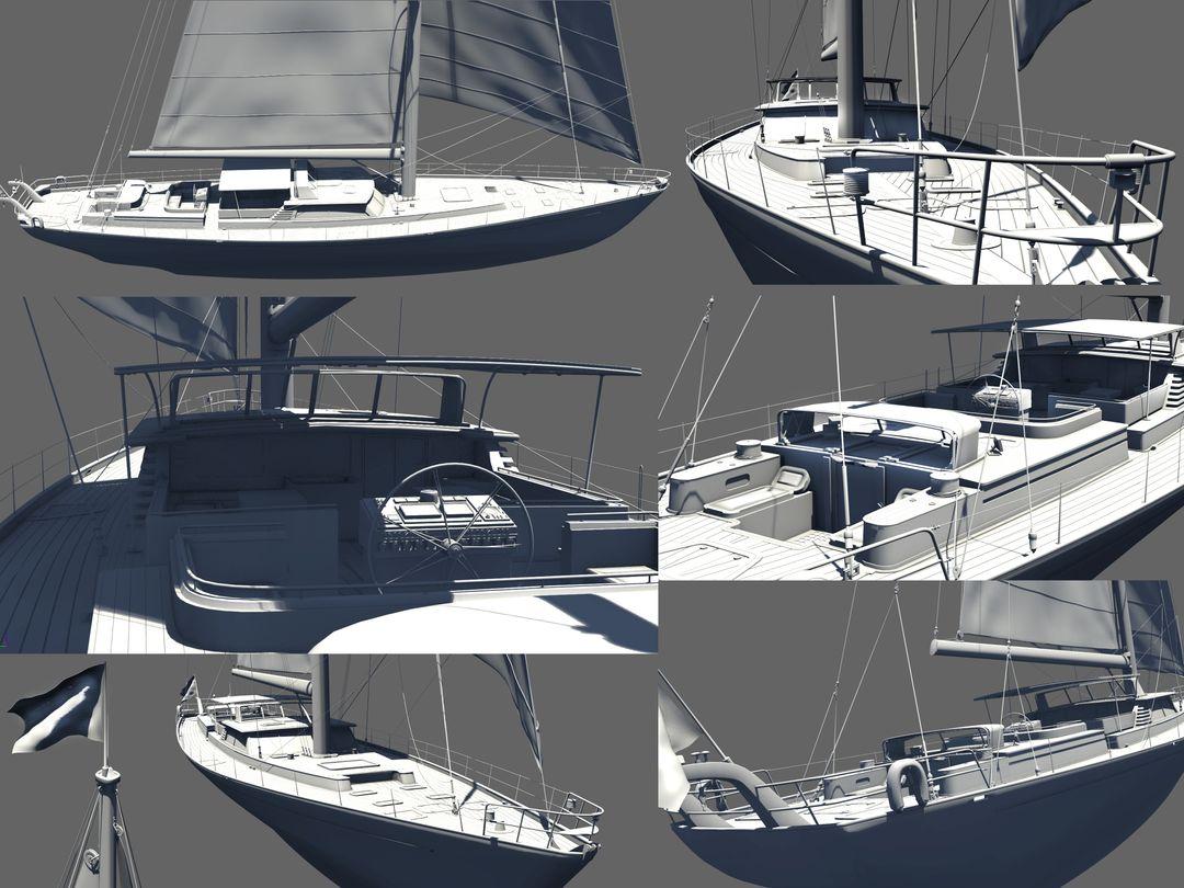Boat modeling Voilier Screen01 jpg