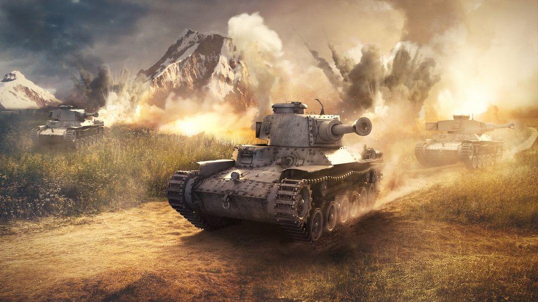 War Thunder Illustrations WarThunder TankJap jpg