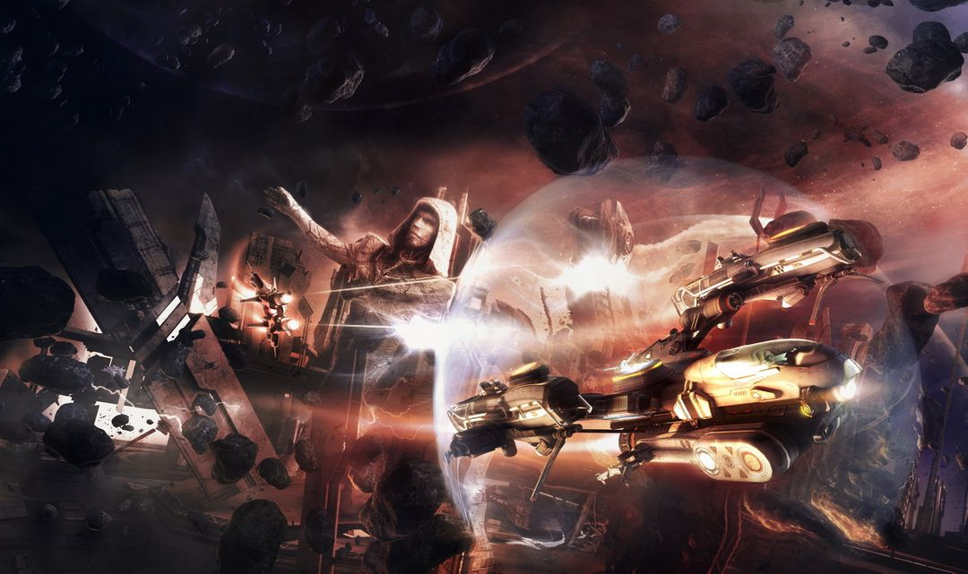Illustrations for the game Star Conflict StarConflitct Dogs Of War jpg