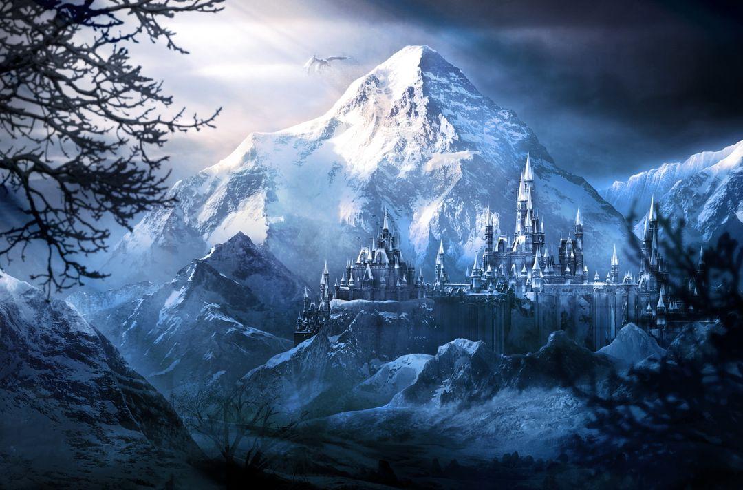 Parallax wallpapers Frozen Castle jpg