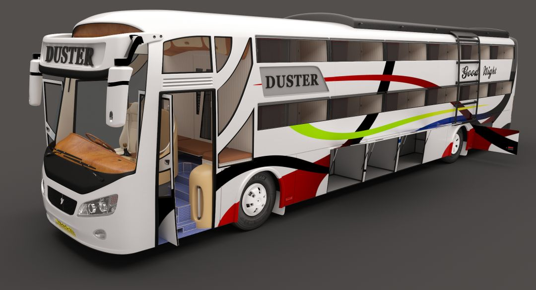 Duster Sleeping Coach Travels Bus Good Night Travels 9 jpg
