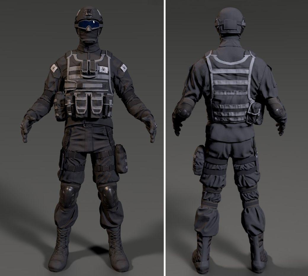 Modern soldier On Arxa jpg
