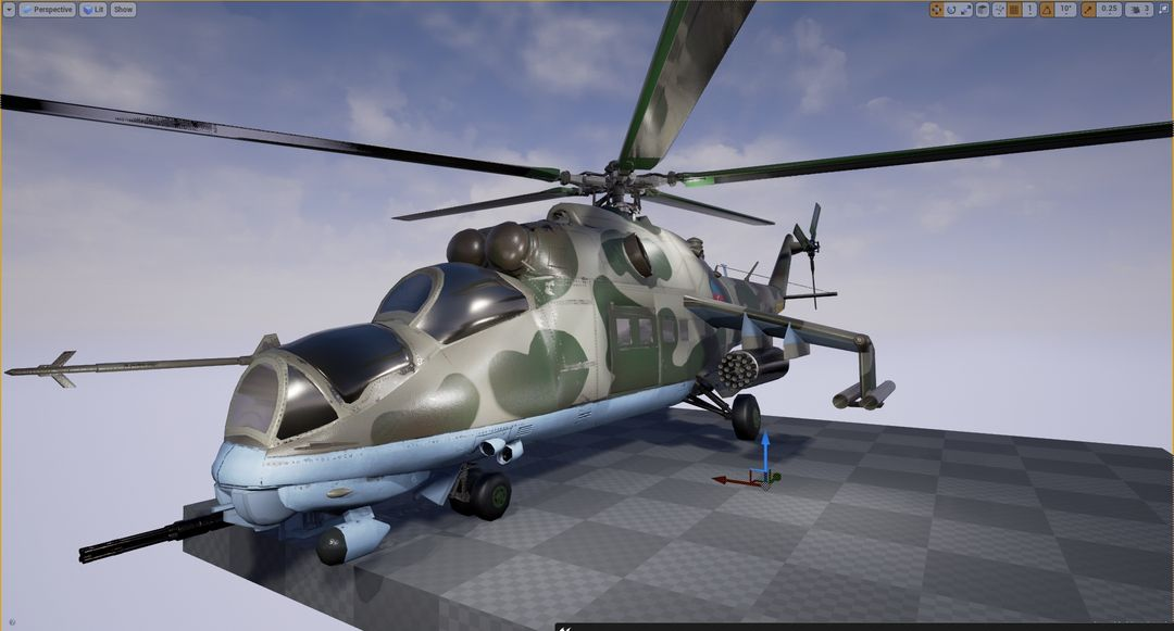 Mi-24 SSR helicopter vertolyot5 jpg