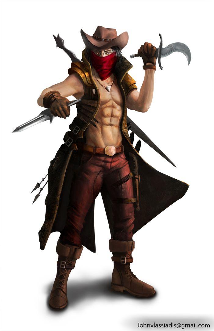 Illustration and concept art work assassin jpg