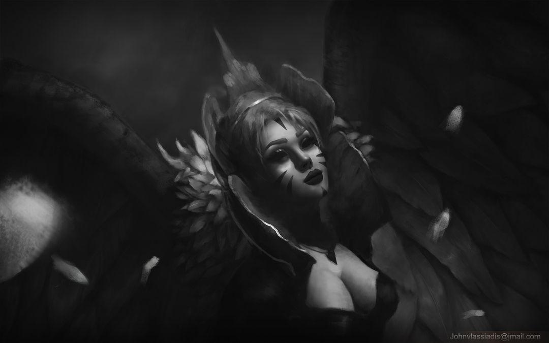 Illustration and concept art work dark princess2 jpg