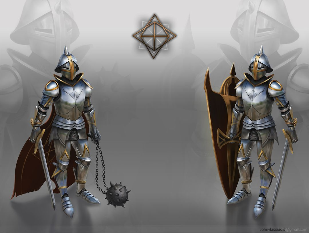Illustration and concept art work imperial Guards concept jpg