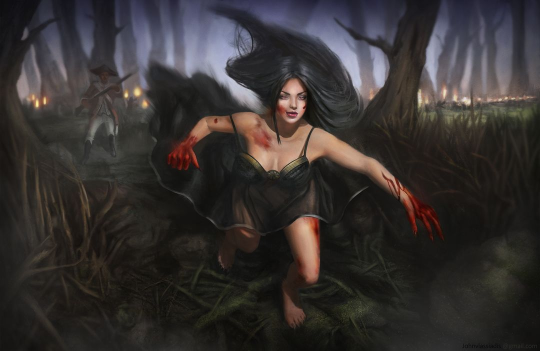 Illustration and concept art work vampire attack lowres jpg