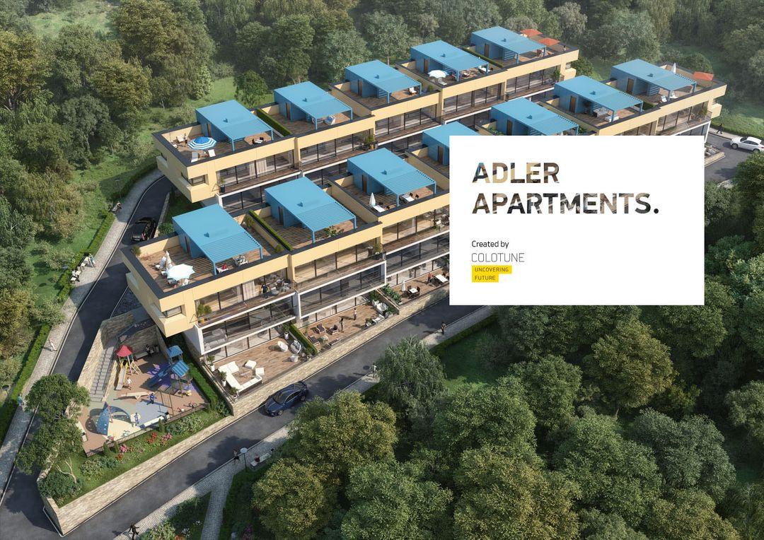 Architectural Visualization Adler Apartments jpeg
