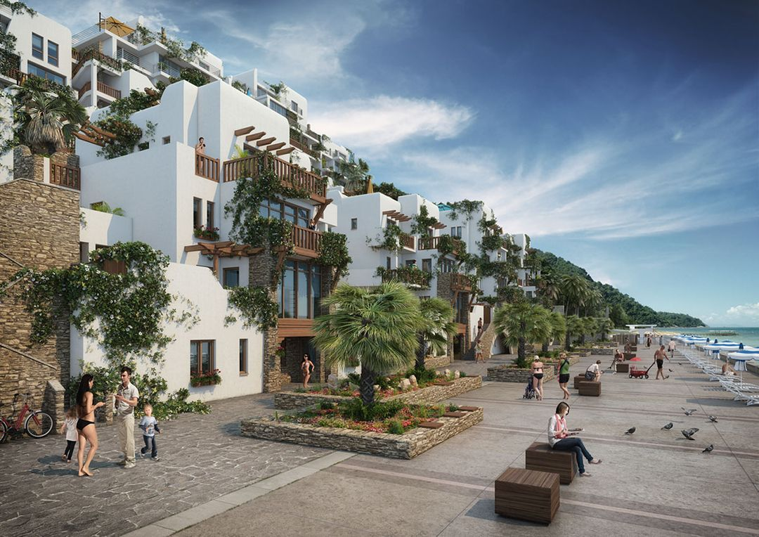 Architectural Visualization Aparthotel jpeg