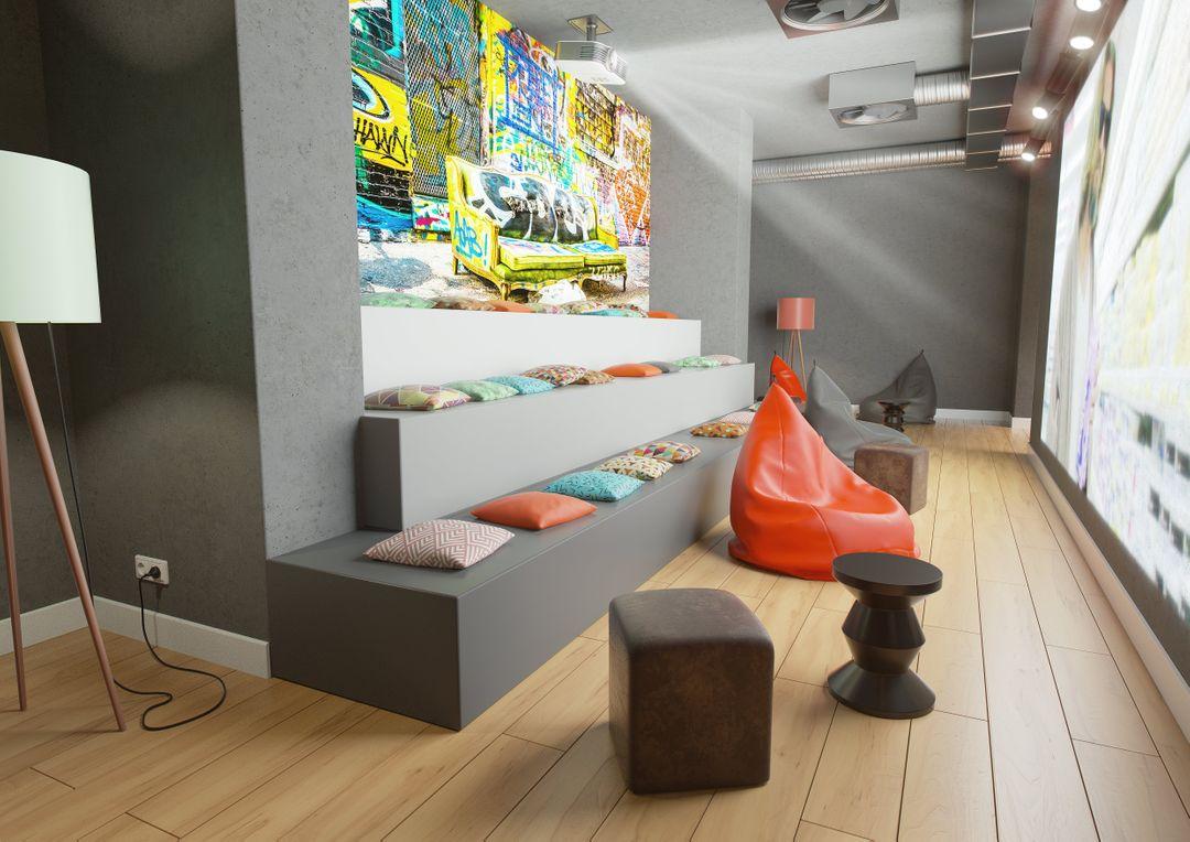 Architecture Visualisation Projection lounge Final min jpg