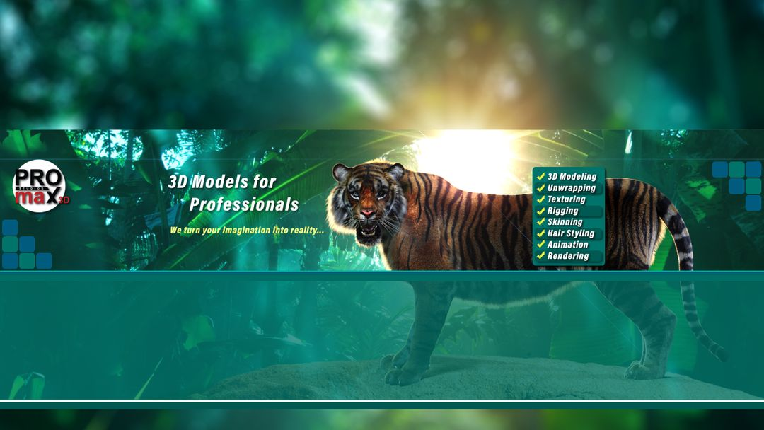 PROmax 3D 2018 Showreel Sumatran Tiger 3d Model Fur Arnold Slide YouTube jpg