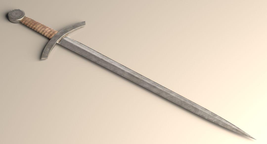 Short Sword 3D Model Main 3 upwork jpg