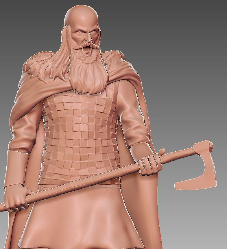 Viking for 3d printing 3 2 jpg