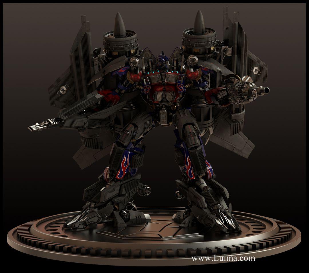 Robots and hardsurface models Renderop01last jpg