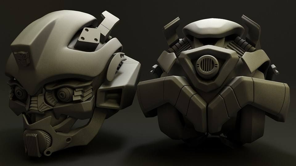 Robots and hardsurface models bumblebee jpg