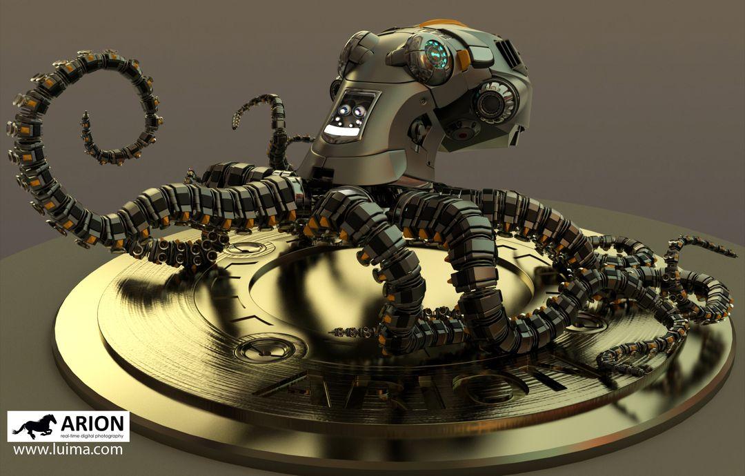 Robots and hardsurface models octo002 jpg