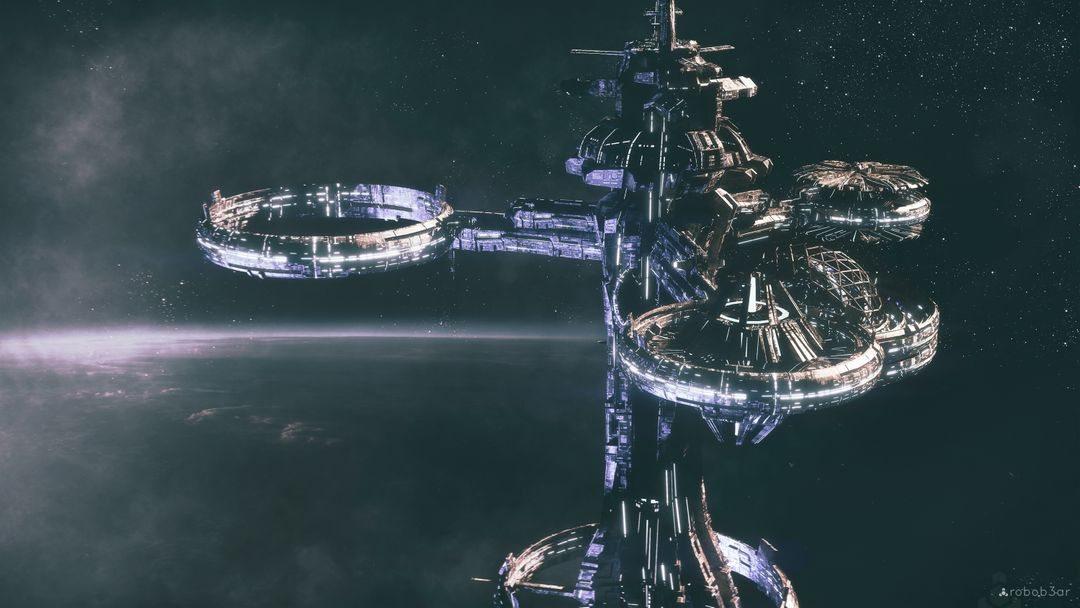 scifi concepts, and space stations, corridors 488 station thing 3k ps jpg