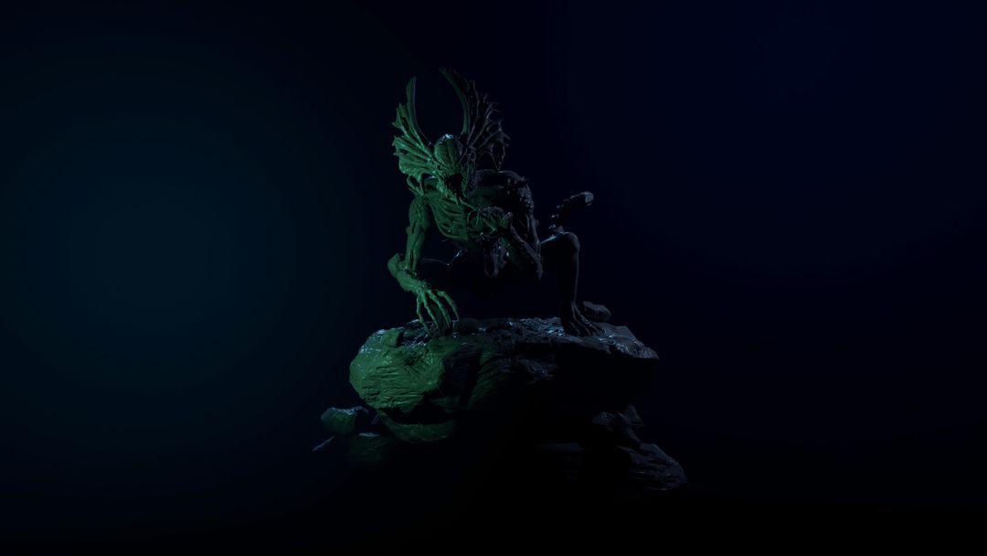 The Hunter - Alien Creature narendra keshkar 02 jpg