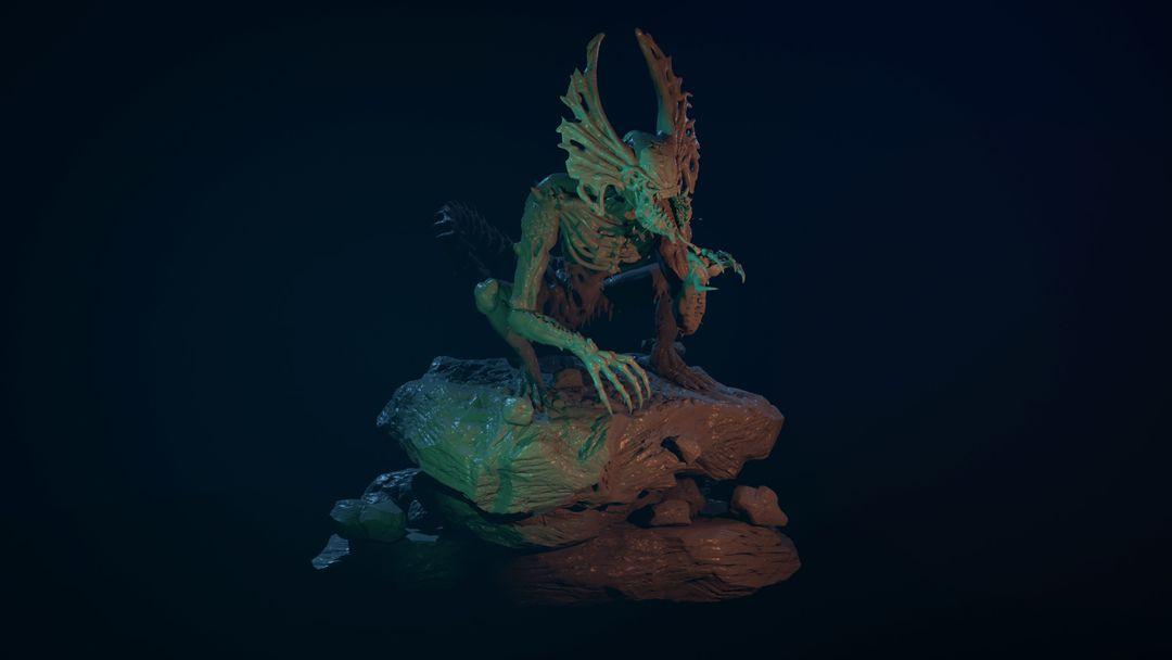 The Hunter - Alien Creature narendra keshkar 04 jpg