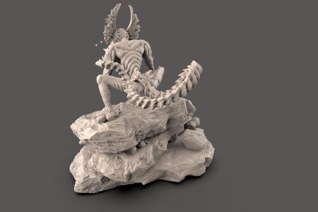 The Hunter - Alien Creature narendra keshkar creature 17 jpg