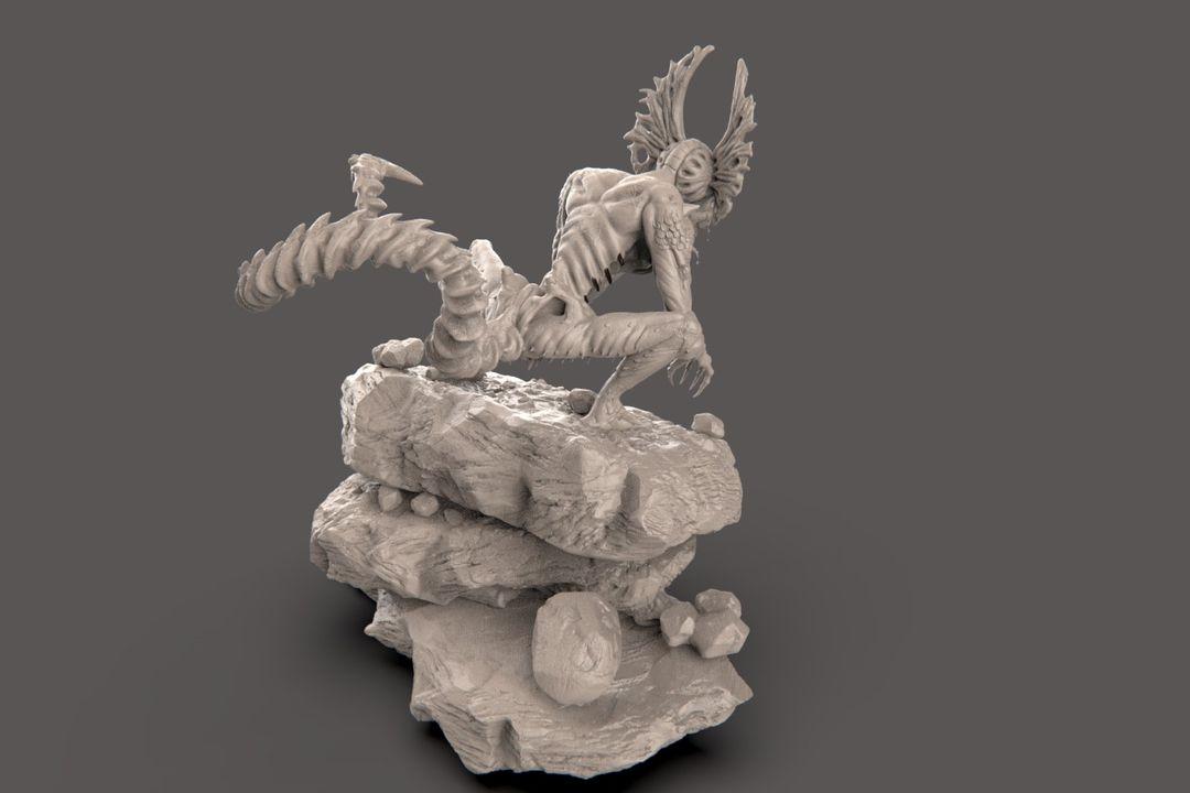 The Hunter - Alien Creature narendra keshkar creature 19 jpg