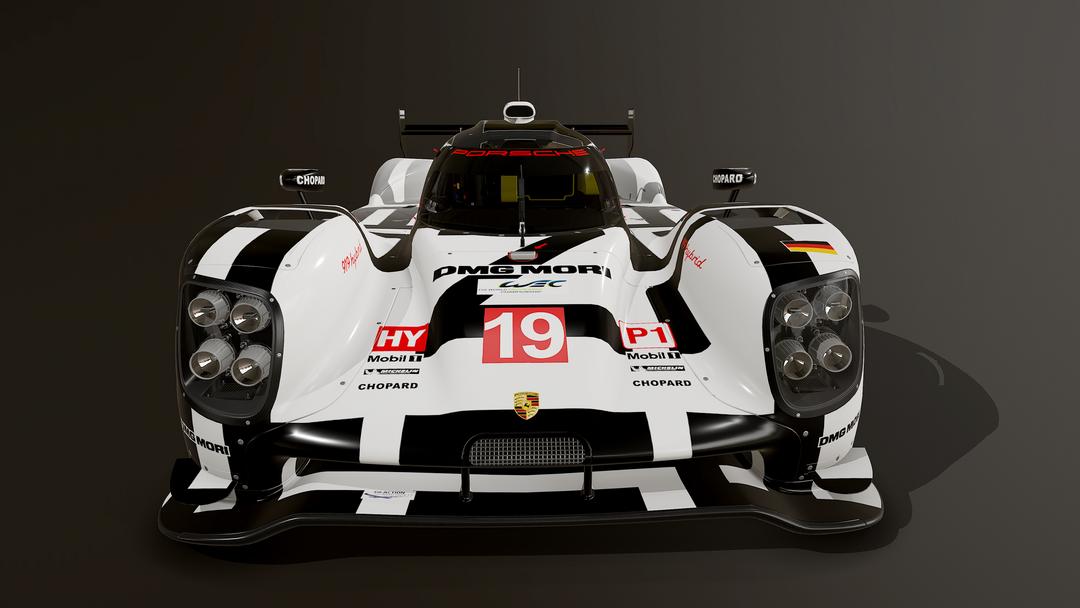 Porsche 919 LMP1 3D model and textures screenshot003 png
