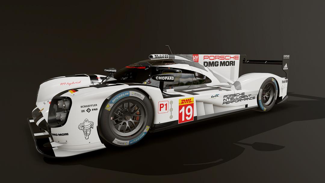 Porsche 919 LMP1 3D model and textures screenshot004 png