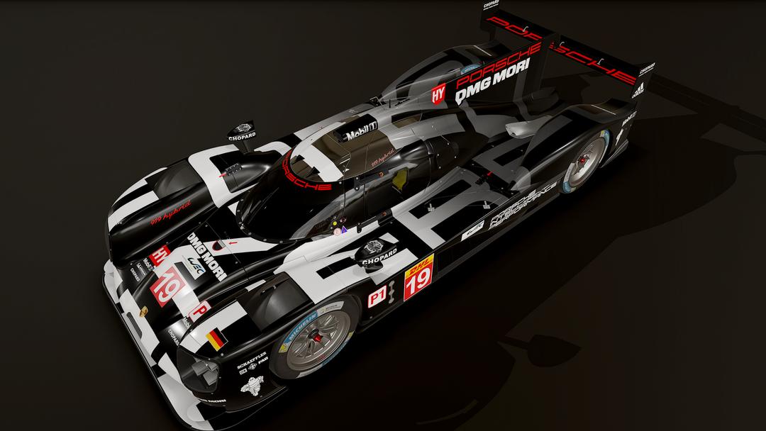 Porsche 919 LMP1 3D model and textures screenshot011 png