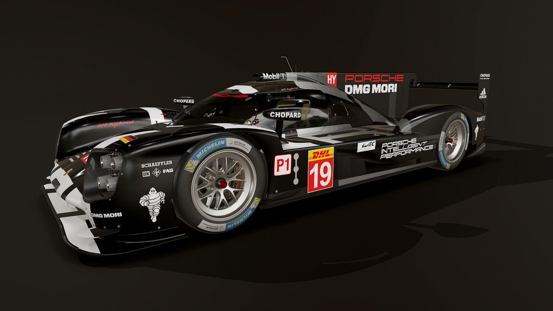 Porsche 919 LMP1 3D model and textures screenshot012 png