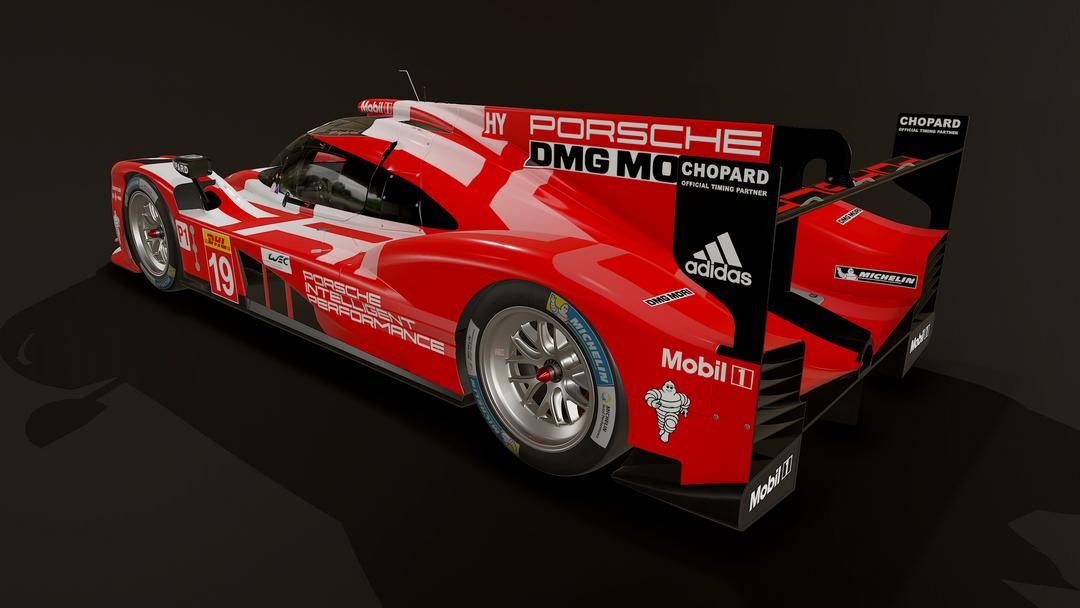Porsche 919 LMP1 3D model and textures screenshot014 png