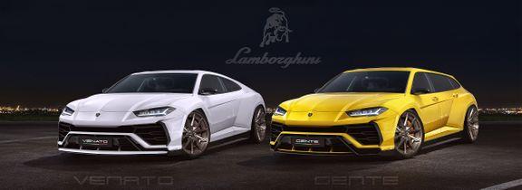 Lamborghini Urus / Redesign