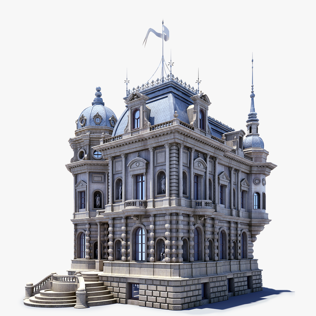 Architectural 3D models frame View19 1 png