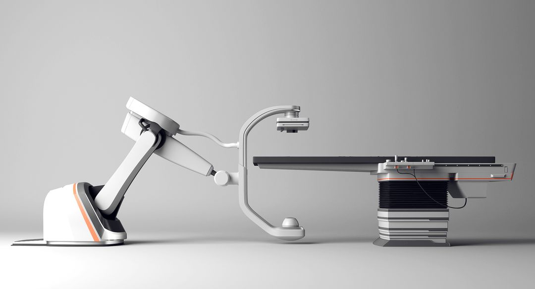 Product vizualization realistic modern medical equipment 3D model DHQ jpg