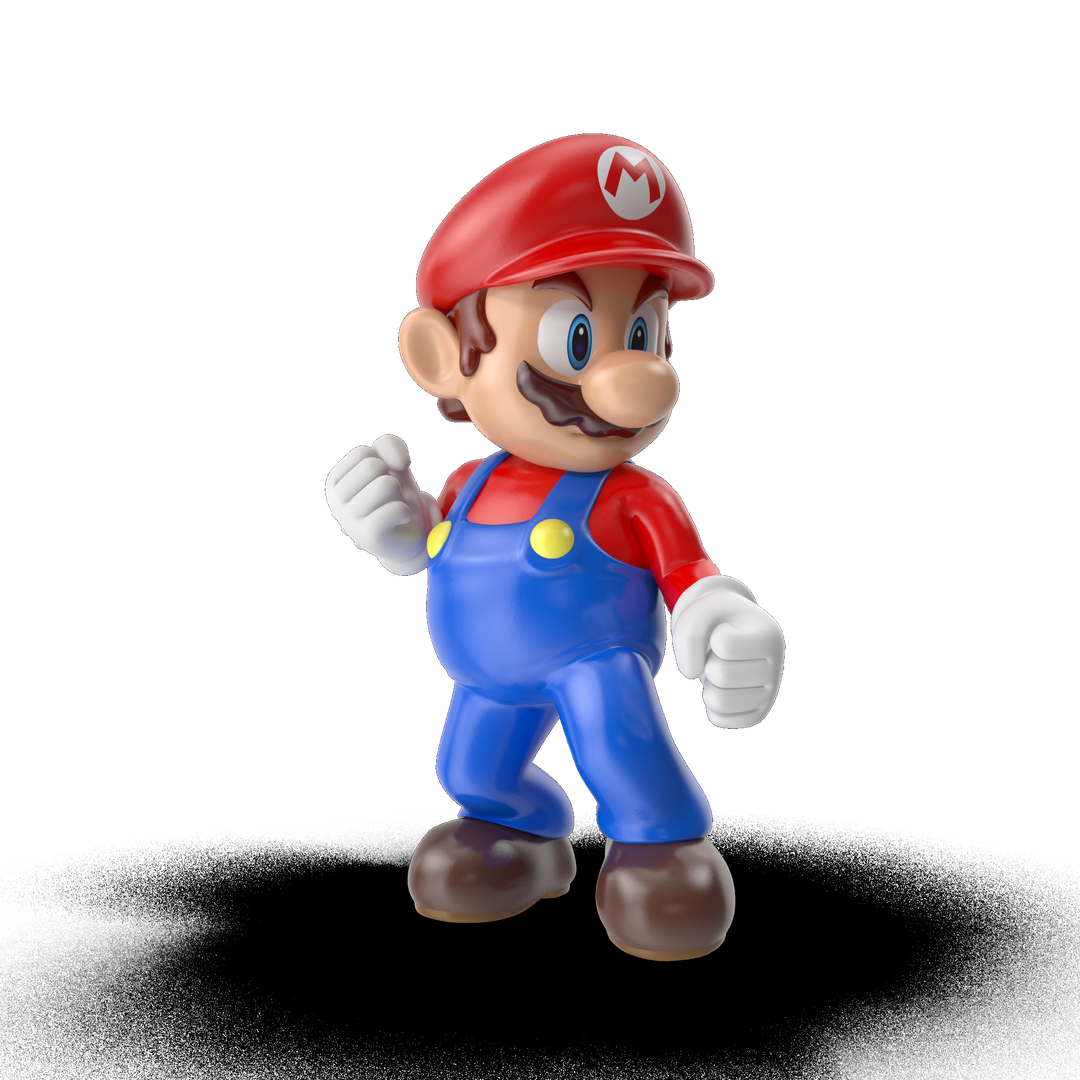 Cartoon and videogame characters Mario I01 2k png