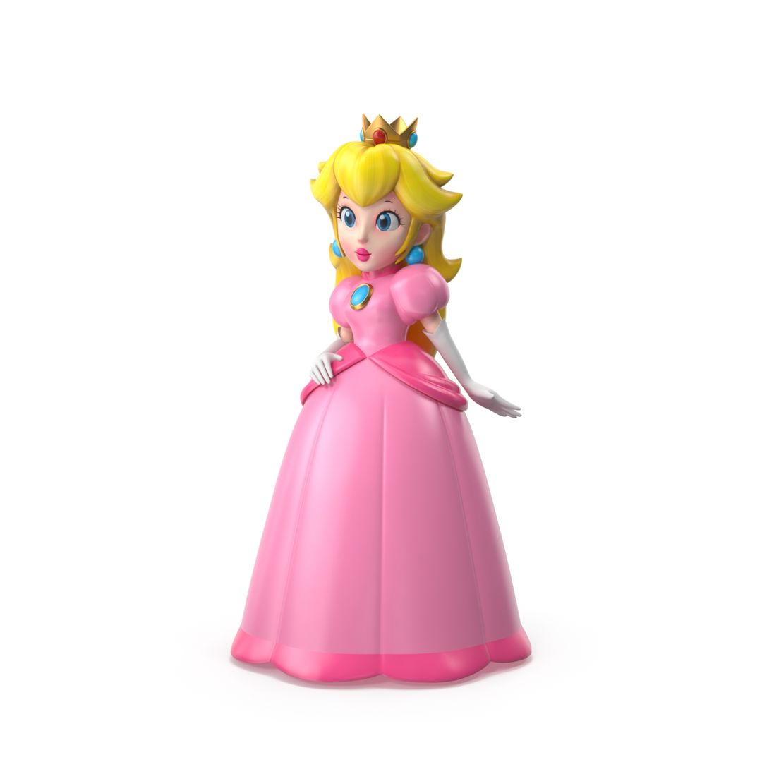Cartoon and videogame characters Princess Peach jpg