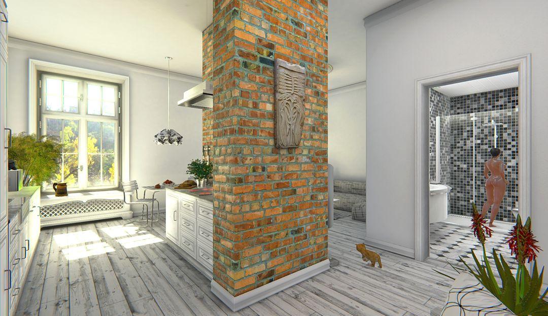 Architectural Showreel VR (Unity + Oculus Rift) Scandinavian Design VR 1 Unity jpg