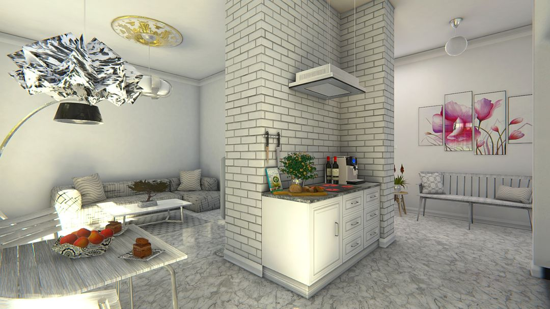 Architectural Showreel VR (Unity + Oculus Rift) Scandinavian Design VR 3 Unity jpg