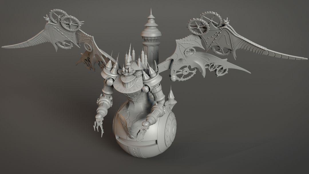 Mechanic character model Arrhidaeus2 jpg