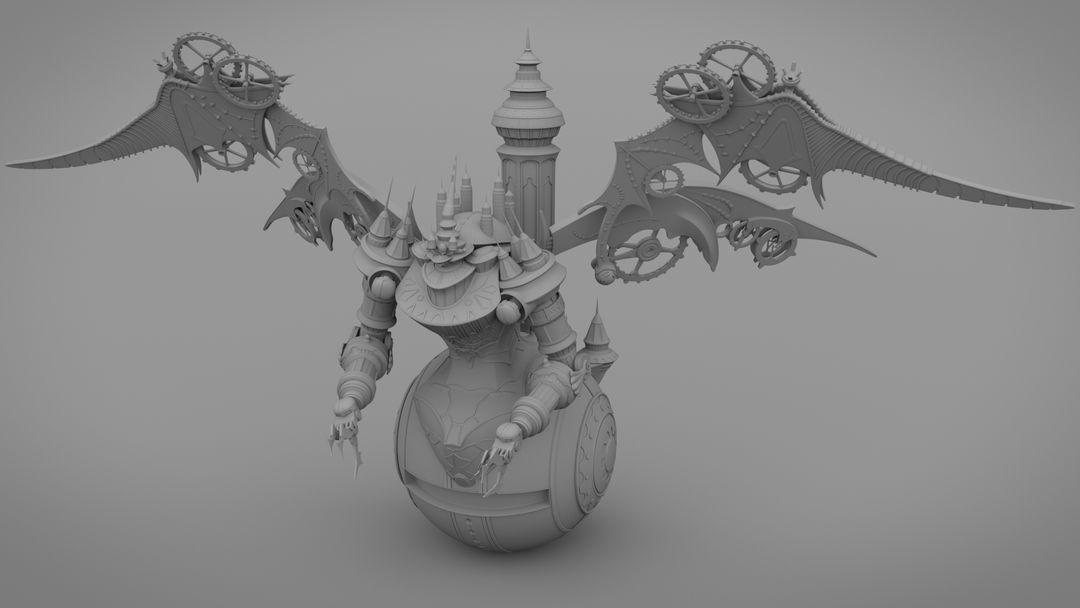Mechanic character model Arrhidaeus2 AO jpg