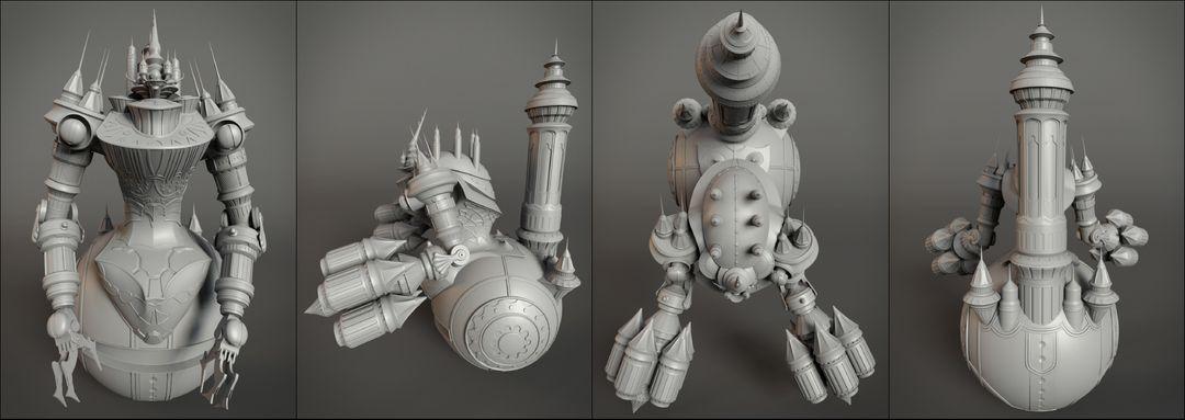 Mechanic character model cuartos jpg