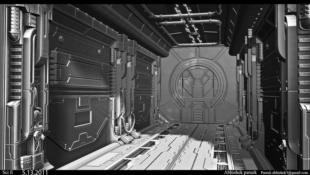 Hard surface/Weapon/vehicle artist sci fi environment 01 jpg