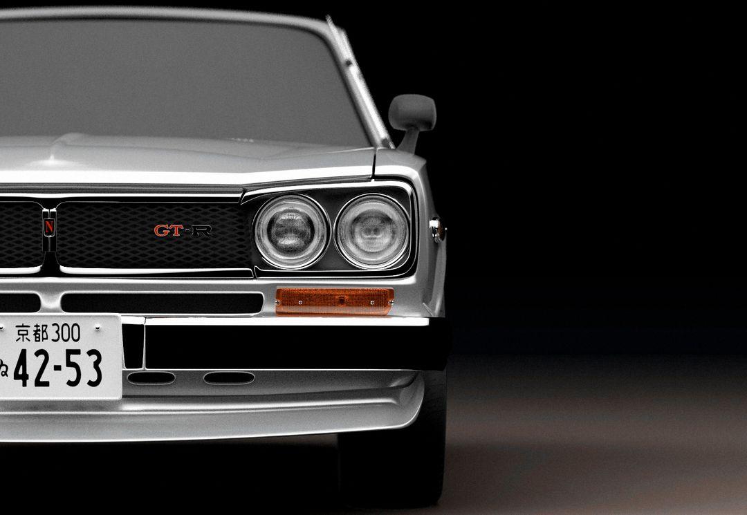 Automotive modeling, 3d skyline 3 p jpg