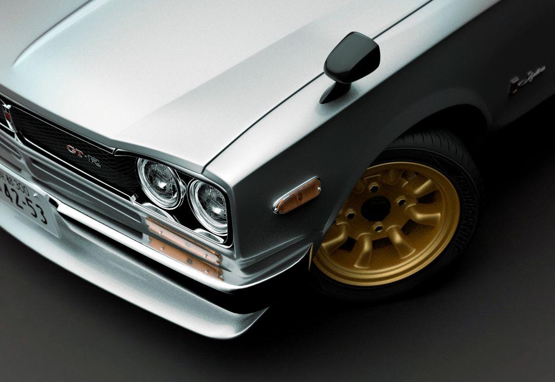 Automotive modeling, 3d skyline 6 p jpg