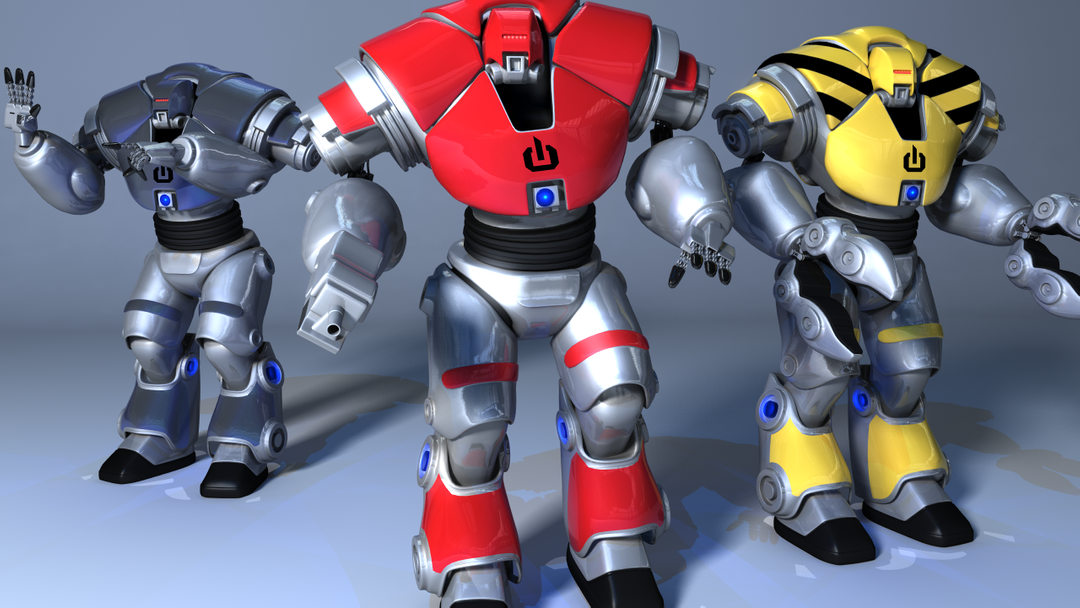 General 3D modelling Droids All3 png