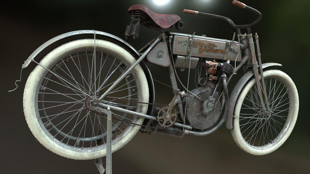 Harley-Davidson 1905-1906 Harley Devidson 5 jpg