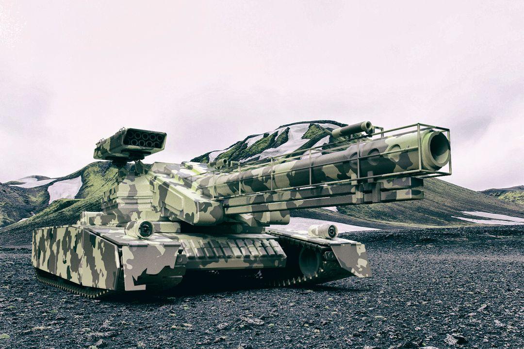 Various/3D modeling and rendering tank 176 jpg