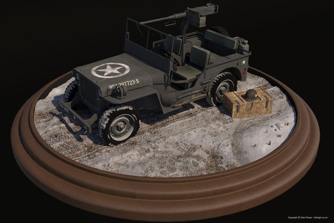 Vehicle 3D models Willys Jeep jpg