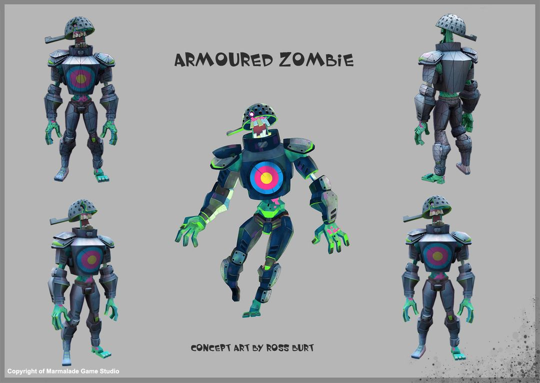 Game Character & Weapons armoured zombie jpg