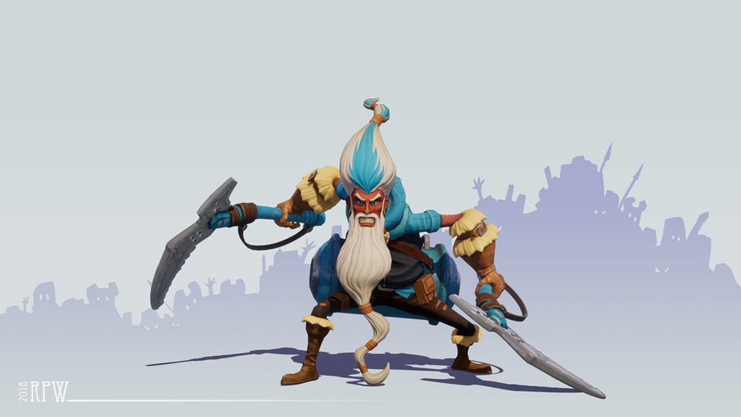 Game Character & Weapons character 01a jpg