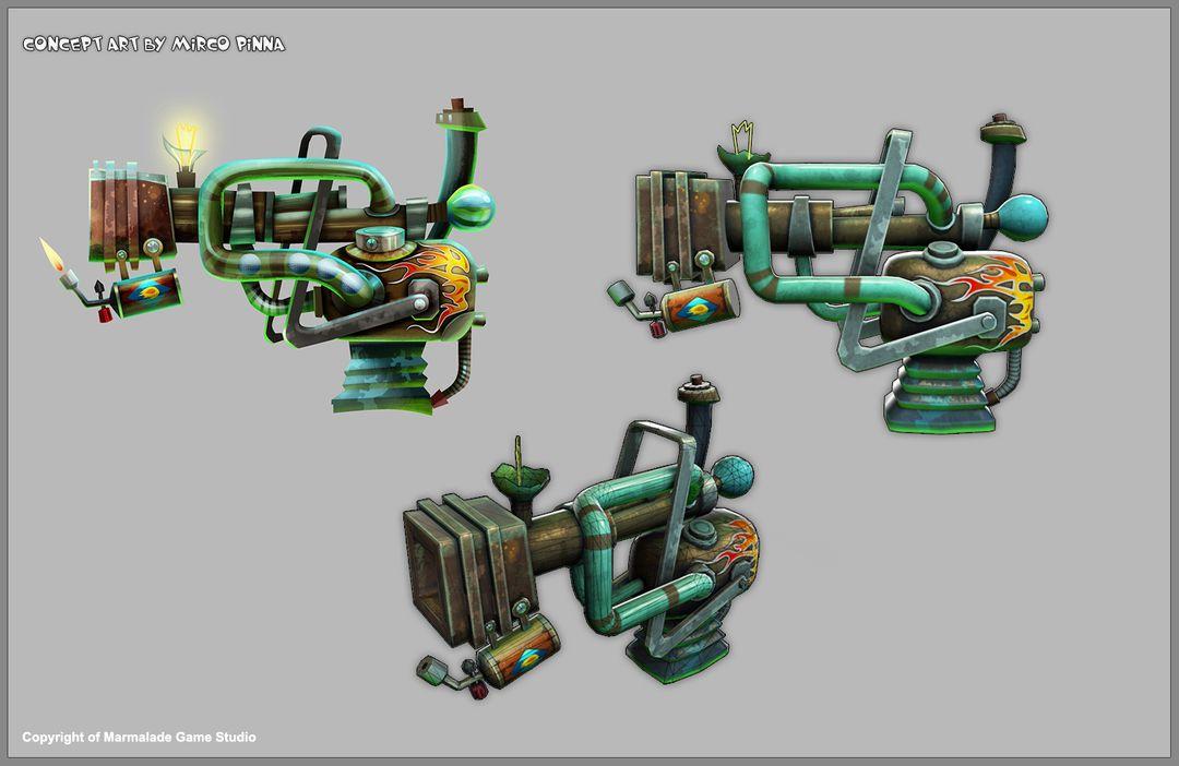 Game Character & Weapons gun golf 01 jpg